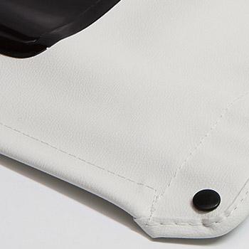 Capota Safari Lona Branca Textura Original
